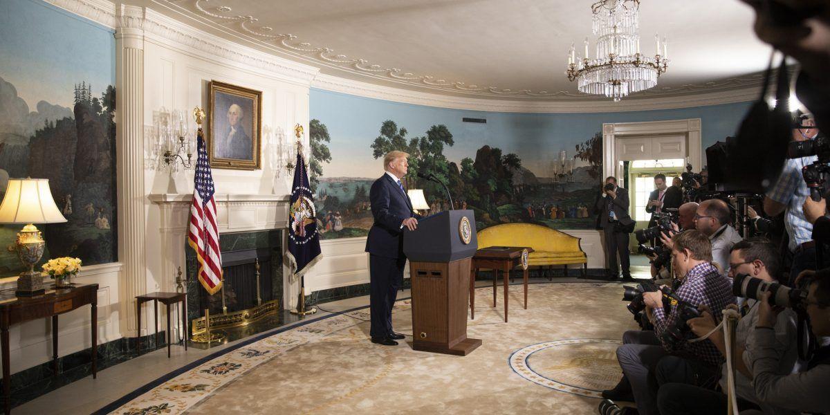 Tactische nederlaag: Trump beperkt eigen opties door uit Kernakkoord Iran te stappen