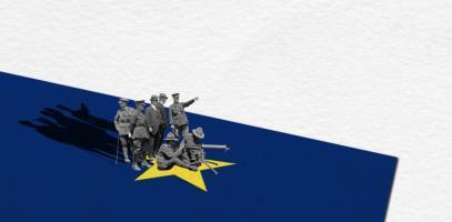 Een Europees leger-dat-niet-bestaat toont zijn spierballen