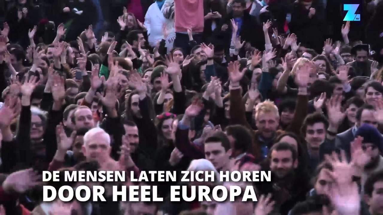 """De """"Open Border Society""""van George Soros geinfiltreerd in de EU en Europees Parlement"""