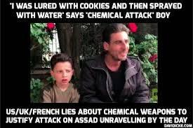 """BBC verspreidde """"fake nieuws""""over de zogenaamde Douma chemische aanval."""