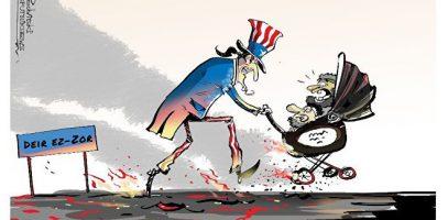 De VS coalitie evacueert de laatse IS strijders en familie in oost-Syrië en laat 200 soldaten achter