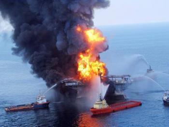 BP Olieramp in de Golf van Mexico 2010