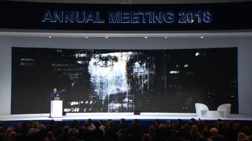 Yuval Noah Harari at Davos 2018