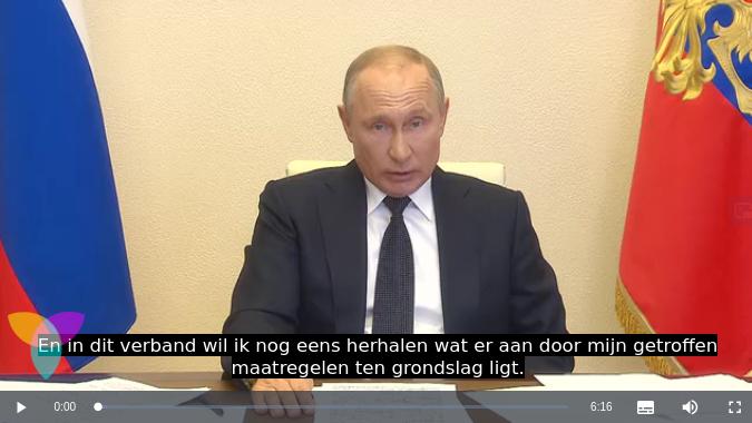 Putin en de corona-crisis