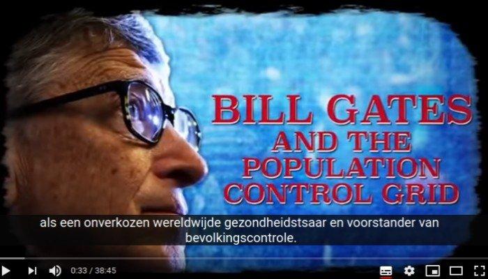 Bill Gates en de bevolkingscontrole