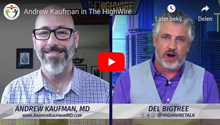 Andrew Kaufman in gesprek met de High Wire.