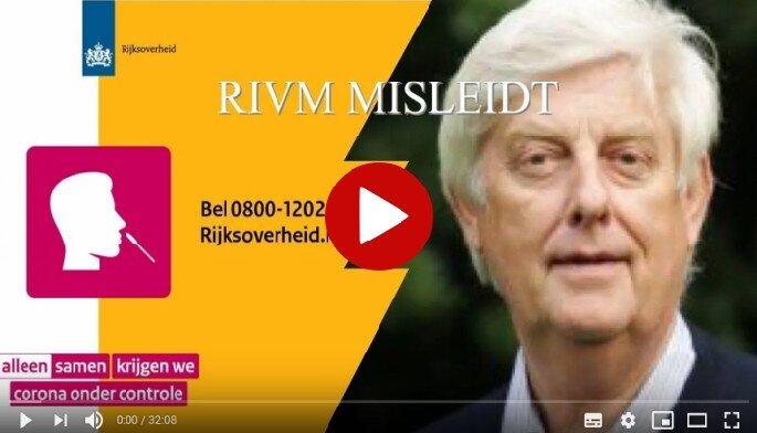Is het een grote misleiding van het RIVM?