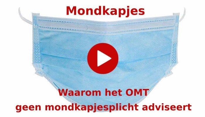 Waarom het OMT geen mondkapjesplicht adviseert