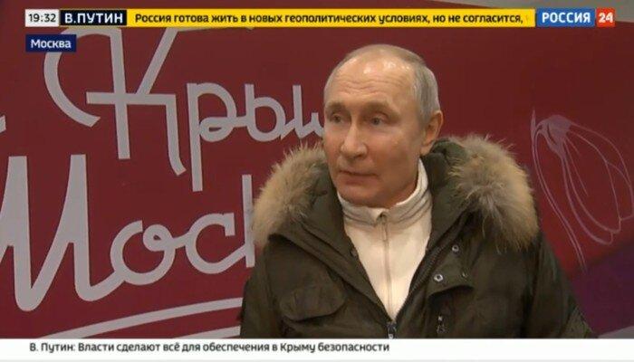 Poetin daagt Biden uit