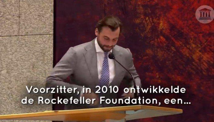 Baudet over Rockefeller Foundation in de Tweede Kamer