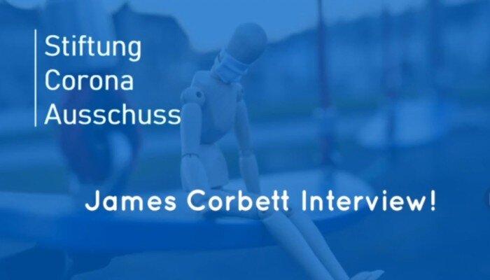 Stiftung Corona Ausschuss in gesprek met James Corbett
