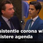 Inconsistentie corona wijst op sinistere agenda